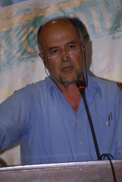 ο Πρόεδρος του ΣΠΕΔΕ Λέσβου κ. Φ. Παναγόπουλος