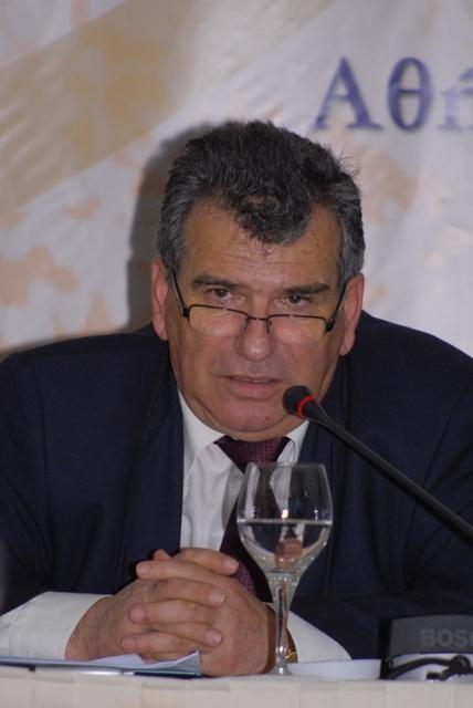 ο Πρόεδρος της Δ.Ε. Μηχανικών του ΕΤΑΑ κ. Ι. Γαμβρίλλης