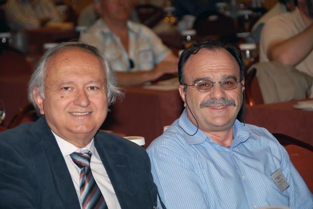 Ο πρόεδρος της ΠΕΣΕΔΕ κ. Γρηγορόπουλος με τον πρών πρόεδρο του ΣΠΕΔΕ Καστοριάς κ. Εγγλέζο